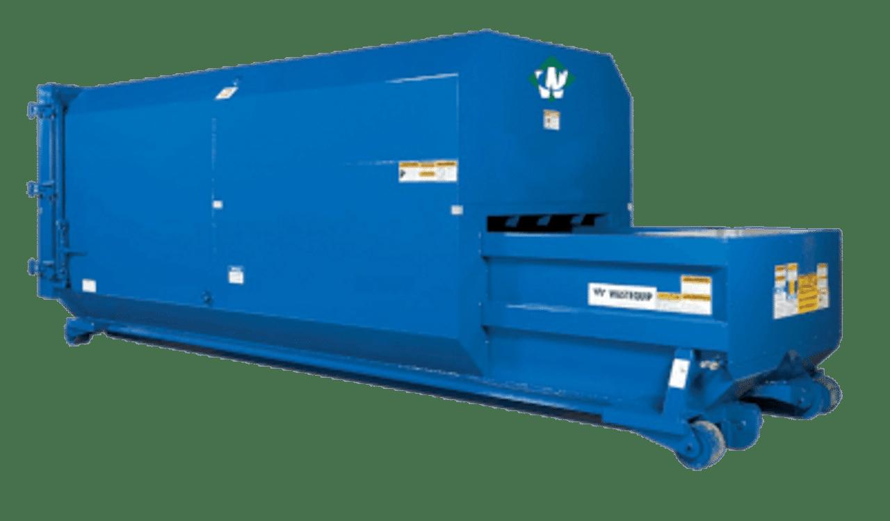 Waste Connections Trash Compactors