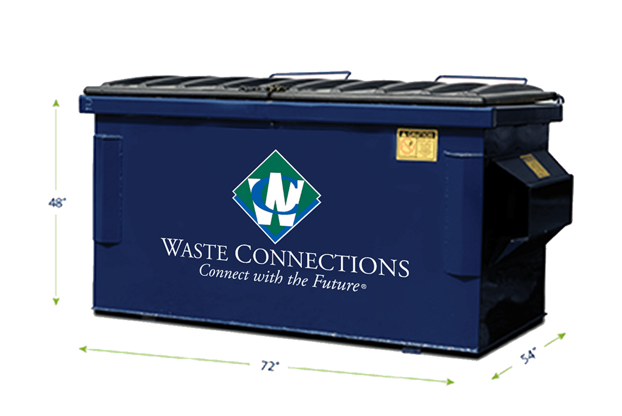 Waste Connections 4 yards Dumpster