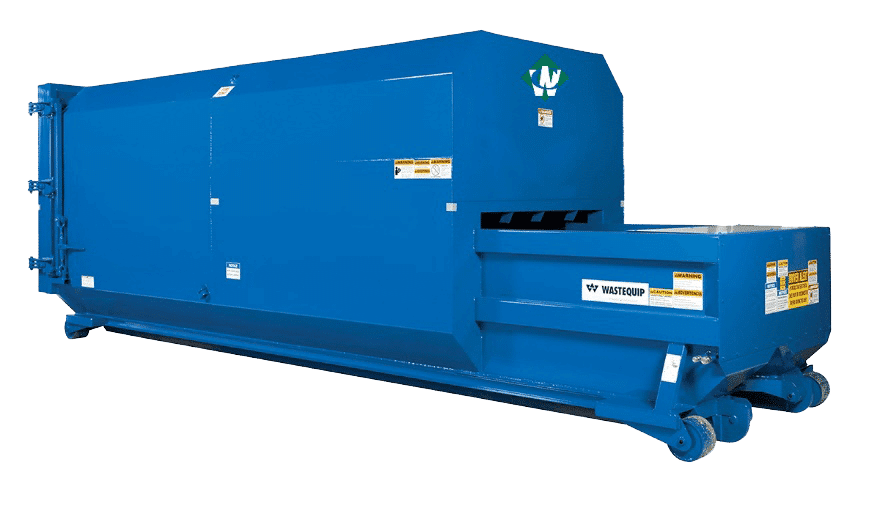 Waste Connections Compactor