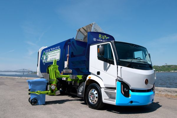 Lion Electric, Boivin Evolution Announce Initial Sales of Lion8, Zero Emission Refuse Trucks