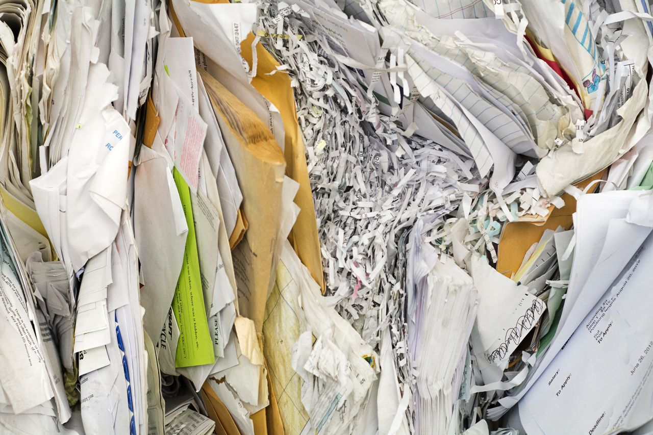 Waste Connections Shredding