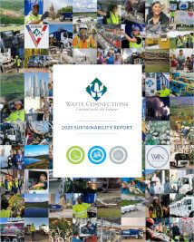 Waste Connections 2020 Sustainability Report